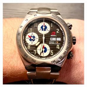 Universal Genève Senna Quarts No.41 chronograph