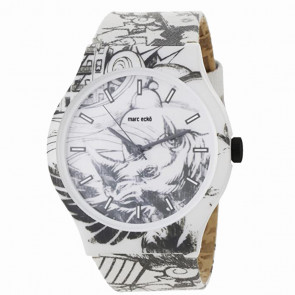 Marc Ecko Artifaks Midsize Sketch-Scape Watch