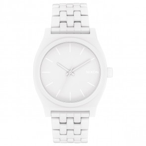 NIXON TIME TELLER ALL WHITE