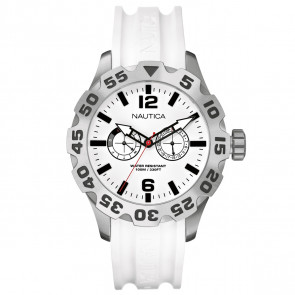 Nautica BFD 100 MULTI white resin strap