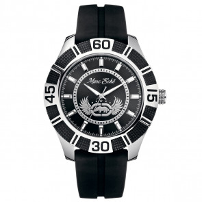 Marc Ecko THE REMO, Black PU Strap