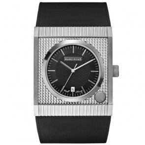 Marc Ecko THE TREASURY Black Silicon Strap