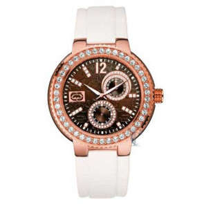Marc Ecko THE COOL, White Patent Strap