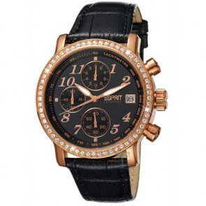 Esprit Collection Pontess Chrono Black Rosegold