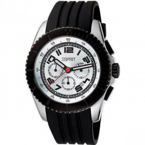 Esprit Men's Chronograph Quartz Watch with Rubber Strap